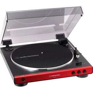 AT-LP60X-RD オーディオテクニカ フルオートターンテーブル(レッド) audio-technica