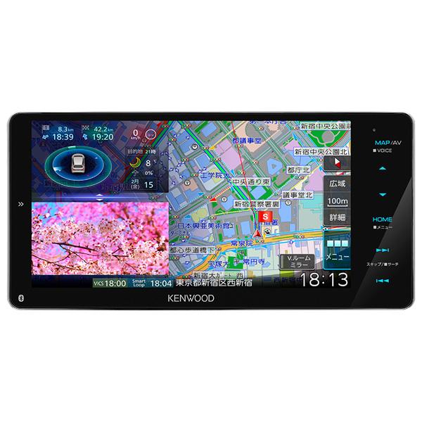 MDV-M906HDW ケンウッド 6.8V型 地上デジタルTVチューナー内蔵 カーナビゲーションシステム200mm KENWOOD 彩速ナビ