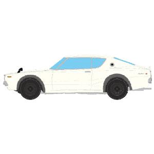 1/43 NISSAN SKYLINE 2000 GT-R (KPGC110) 1973 ホワイト【EM394A】 メイクアップ