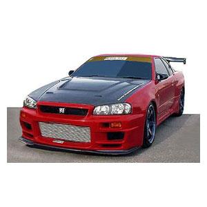 1/43 TOP SECRET GT-R (BNR34) Red Metallic【IG1904】 ignitionモデル