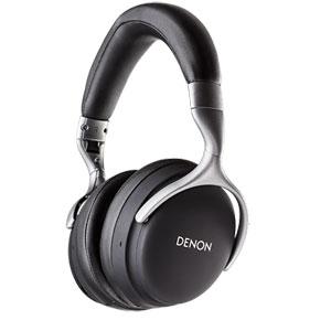 AH-GC25WBKEM デノン Bluetooth対応 ダイナミック型ヘッドホン(ブラック) DENON