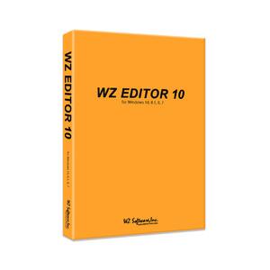 売店 WZ 売れ筋 EDITOR 10 CD-ROM版 WZソフトウェア ※パッケージ版