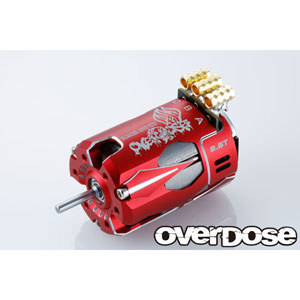 OD Factory Tuned Spec. Brushless Motor Ver.3 6.5T (レッド)【OD2603】 OVERDOSE
