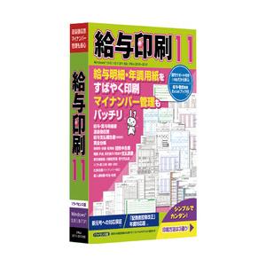 給与印刷 11<新元号対応> TB ※パッケージ版