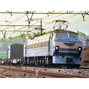 1/45 トレインミュージアムOJ No.5 電気機関車 EF66 前期型【54086】 アオシマ