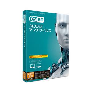 ESET NOD32アンチウイルス 5PC 1年5台 キヤノンITソリューションズ ※パッケージ版