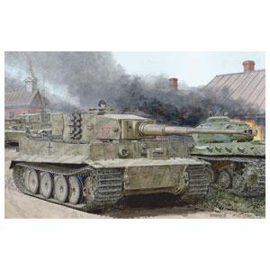 1/35 WW.II ドイツ軍 ティーガーI 中期生産型 w/ツィメリットコーティング オットー・カリウス(マリナーファの戦い 1944)【DR6888】 ドラゴンモデル