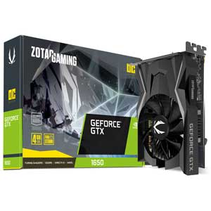 ZT-T16500F-10L ZOTAC PCI-Express 3.0 x16対応 グラフィックスボードZOTAC GAMING GeForce GTX 1650 OC