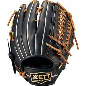 Z-BRGB33930-1936-RH ゼット 軟式野球用グラブ オールラウンド用(ブラック/オークブラウン・左投用・サイズ:6) ZETT ウイニングロード
