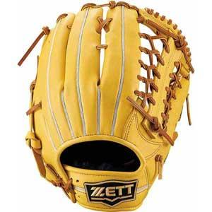 Z-BRGB33940-5436-RH ゼット 軟式野球用グラブ オールラウンド用(トゥルーイエロー/オークブラウン・左投用・サイズ:7) ZETT ウイニングロード