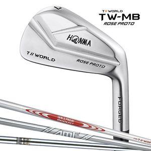 TW-ROSE-PRT-4I-MDS-S 本間ゴルフ TW-MB ROSE PROTO アイアン N.S.PRO MODUS3 FOR T//WORLDシャフト #4 フレックス:S