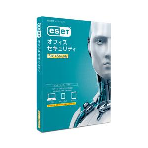 ESET オフィス セキュリティ【5PC+5モバイル】 キヤノンITソリューションズ ※パッケージ版