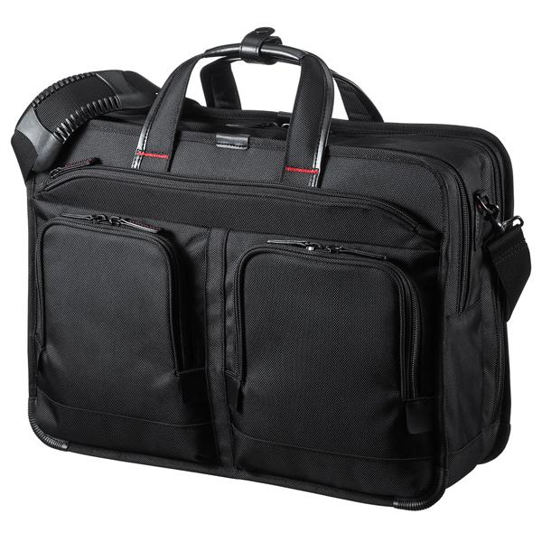 BAG-EXE9 サンワサプライ 15.6インチワイド 大型ダブル エグゼクティブビジネスバッグPRO(ブラック)