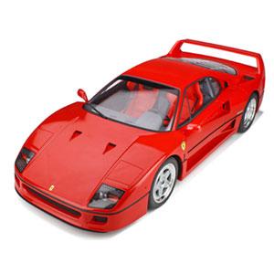 1/8 フェラーリ F40 (レッド) ケース&ベース付【GTS80021】 GTスピリット