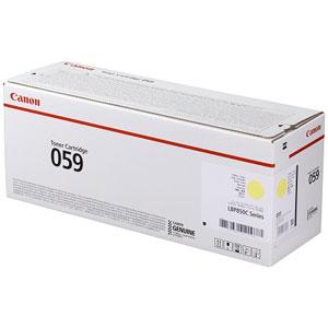CRG-059YEL キヤノン トナーカートリッジ059 (イエロー) Canon 3620C001