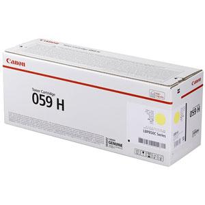 CRG-059HYEL キヤノン トナーカートリッジ059H 大容量タイプ (イエロー) Canon 3624C001