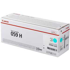 CRG-059HCYN キヤノン トナーカートリッジ059H 大容量タイプ (シアン) Canon 3626C001
