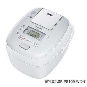 SR-PB189-W パナソニック 可変圧力IHジャー炊飯器(1升炊き) ホワイト Panasonic おどり炊き [SRPB189W]