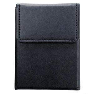 トレーディングカード用レザーカードケース スリム 別倉庫からの配送 ブラック アンサー 超定番