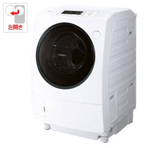 (標準設置料込)TW-95G8L-W 東芝 9.0kg ドラム式洗濯乾燥機【左開き】グランホワイト TOSHIBA