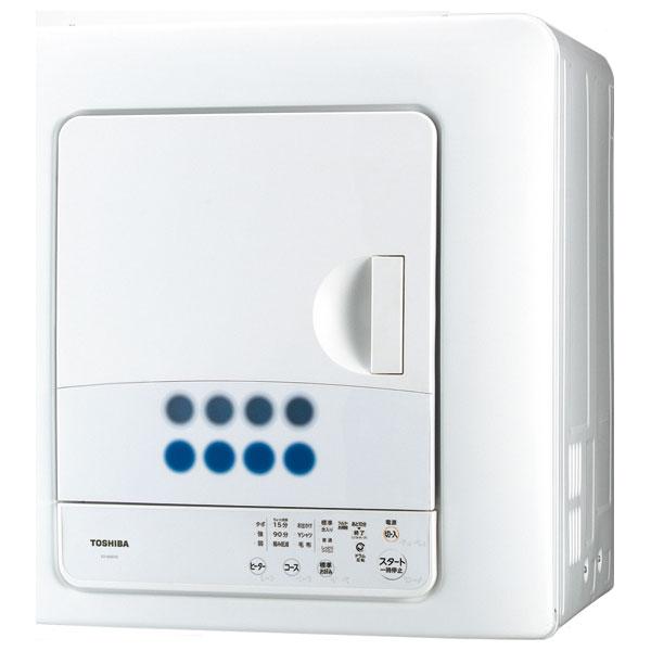 ED-608-W 東芝 6.0kg 衣類乾燥機 ピュアホワイト TOSHIBA [ED608W]