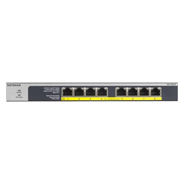 GS108LP-100AJS NETGEAR ギガビットアンマネージスイッチ GS108LP