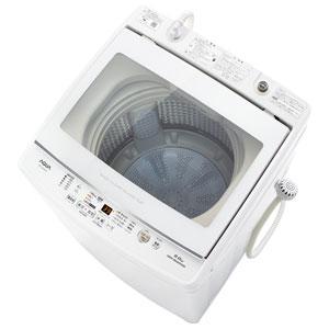 _ (標準設置料込)AQW-GV90H-W アクア 9.0kg 全自動洗濯機 ホワイト AQUA