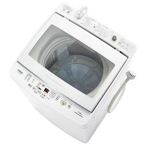 _ (標準設置料込)AQW-GV70H-W アクア 7.0kg 全自動洗濯機 ホワイト AQUA