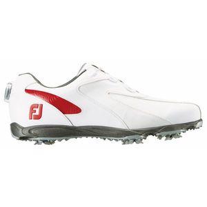 45187W26 フットジョイ メンズ・ゴルフシューズ (ホワイト×レッド・サイズ:26.0cm) footjoy EXL スパイク ボア