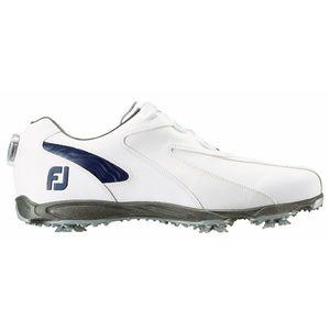 45189W27 フットジョイ メンズ・ゴルフシューズ (ホワイト×ネイビー・サイズ:27.0cm) footjoy EXL スパイク ボア