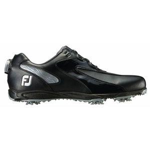 45190W255 フットジョイ メンズ・ゴルフシューズ (ブラック×シルバー・サイズ:25.5cm) footjoy EXL スパイク ボア