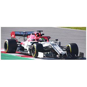1/43 アルファ ロメオ レーシング F1 C38 アントニオ・ジョヴィナッツィ 2019【417190099】 ミニチャンプス