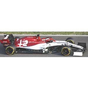 1/18 アルファ ロメオ レーシング F1 C38 キミ・ライコネン 2019【110190007】 ミニチャンプス
