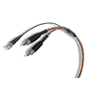 OHNO-P.MM-R-R1.25 オーディエンス フォノケーブル《OHNO Phono MM cable》1.25m(ペア)【RCA⇔RCA】 AUDIENCE