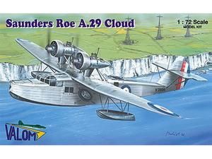 【再生産】1/72 英サンダース・ローA.29クラウド軍用飛行艇【CV72067】 バロム