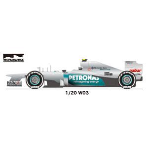 1/20 AMG F1 W03 2012 MONOPOST(Multimedia Kit)【MP021】 スタジオ27