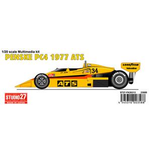 1/20 PENSKE PC4 ATS 1977【ST27-FK20313】 スタジオ27