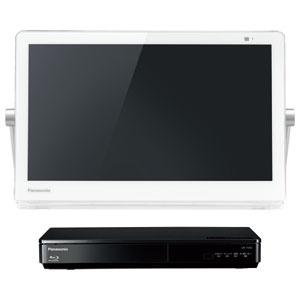 UN-15CTD9-W パナソニック 15V型ネットワークディスプレイ付500GB HDDレコーダー/ブルーレイディスクプレーヤー(ホワイト) (別売USB HDD録画対応)Panasonic プライベートビエラ
