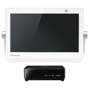 UN-10CN9-W パナソニック 10V型ポータブル地上・BS・110度CSデジタル液晶テレビ(ホワイト) (別売USB HDD録画対応)Panasonic プライベートビエラ