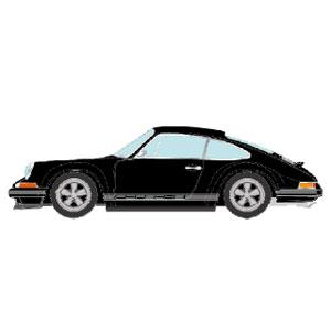【再生産】1/43 Porsche Singer 911(964) ブラック【VM111H】 メイクアップ