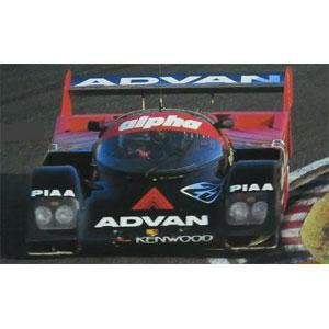 1/43 ADVAN alpha Porsche 962C (#25) 1989 JSPC【IG1201】 ignitionモデル