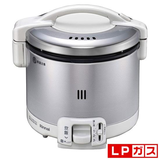 RR-030FS(W)-LP リンナイ ガス炊飯器【プロパンガスLP用】 グレイッシュホワイト Rinnai こがまる 3合 [RR030FSWLP]