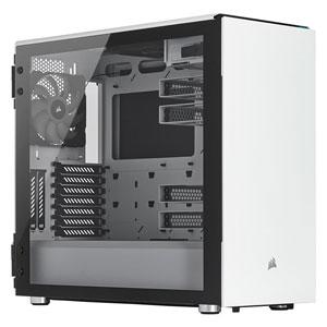 CC-9011170-WW コルセア ミドルタワー型PCケース(ホワイト) CORSAIR Carbide 678C Tempered Glassシリーズ