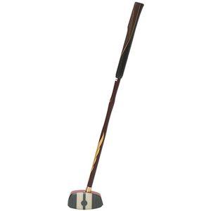 3283A014-600-R840 アシックス グラウンドゴルフ 一般用クラブ(一般右打者専用)(レッド×ブラウン・サイズ:F 長さ84cm) asics GG ストロングショット ハイパー