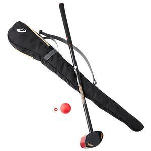 3283A037-600-R840 アシックス グラウンド・ゴルフ4点セット(一般右打者専用)(レッド・長さ84cm) asics