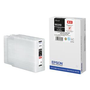 IB02KB エプソン 純正インクカートリッジ Lサイズ (ブラック) EPSON