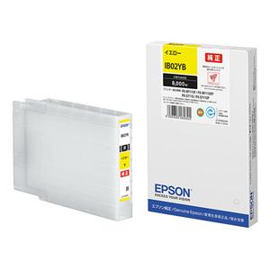 IB02YB エプソン 純正インクカートリッジ Lサイズ (イエロー) EPSON
