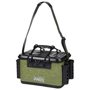 PX966240AG プロックス EVAタックルバッカン ロッドホルダー付 贈答 40サイズ トレンド PROX アーミーグリーン バッカン タックルバック