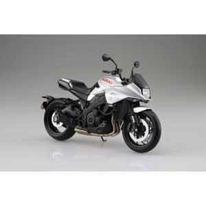 1 12 完成品バイク SUZUKI GSX-S1000S セール品 アオシマ KATANA スカイネット 全品送料無料 塗装済完成品 メタリックミスティックシルバー