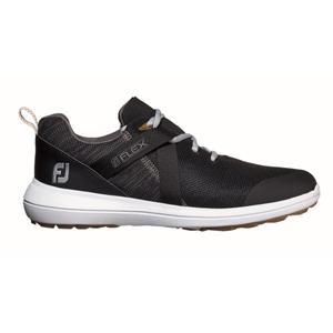 56103W255 フットジョイ メンズ・スパイクレス・ゴルフシューズ(ブラック・25.5cm) FootJoy FJ フレックス #56103
